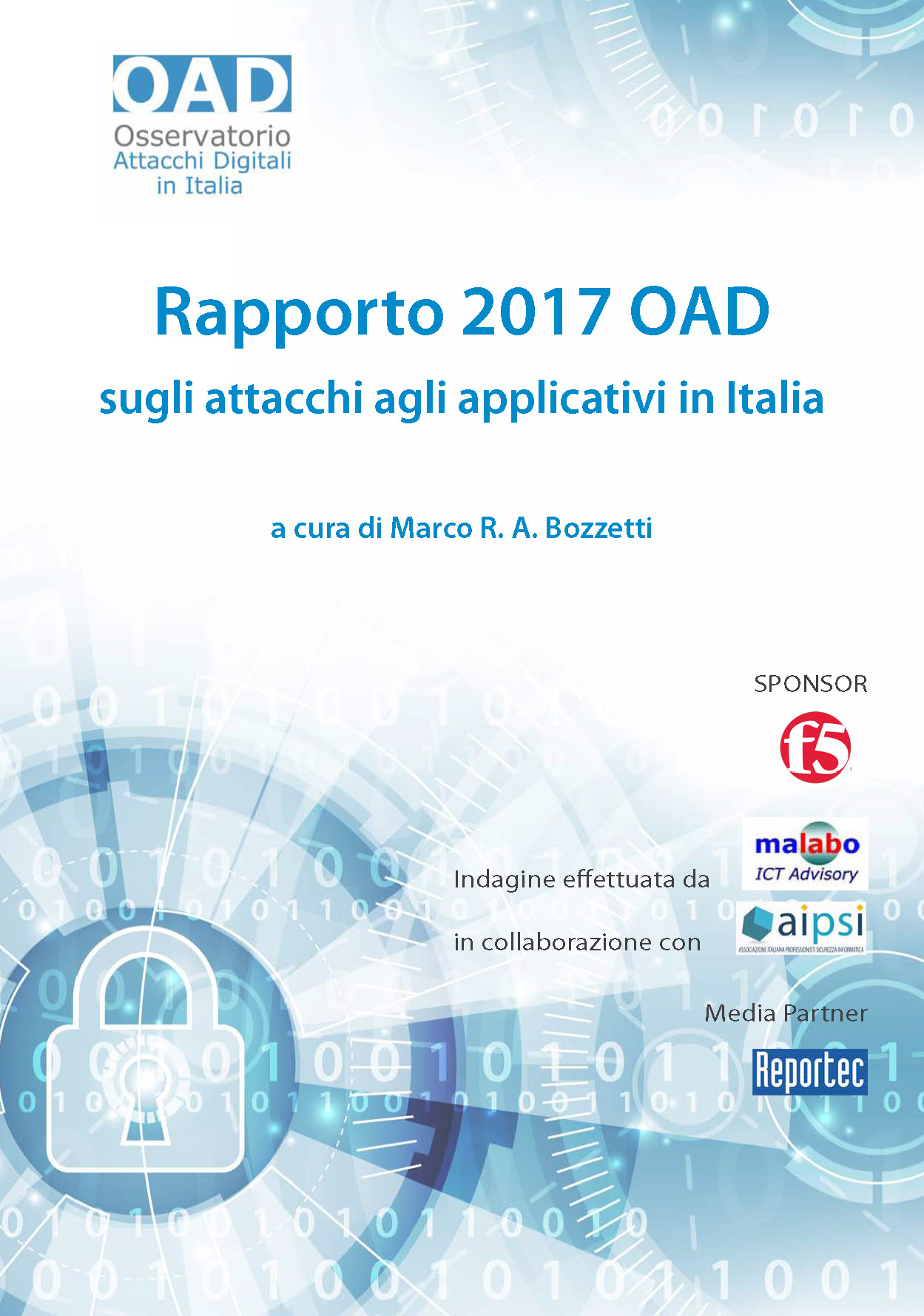 Cover Rapporto OAD 2017 applicativi